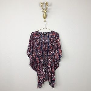 Angie Dolman Sleeve Blouse